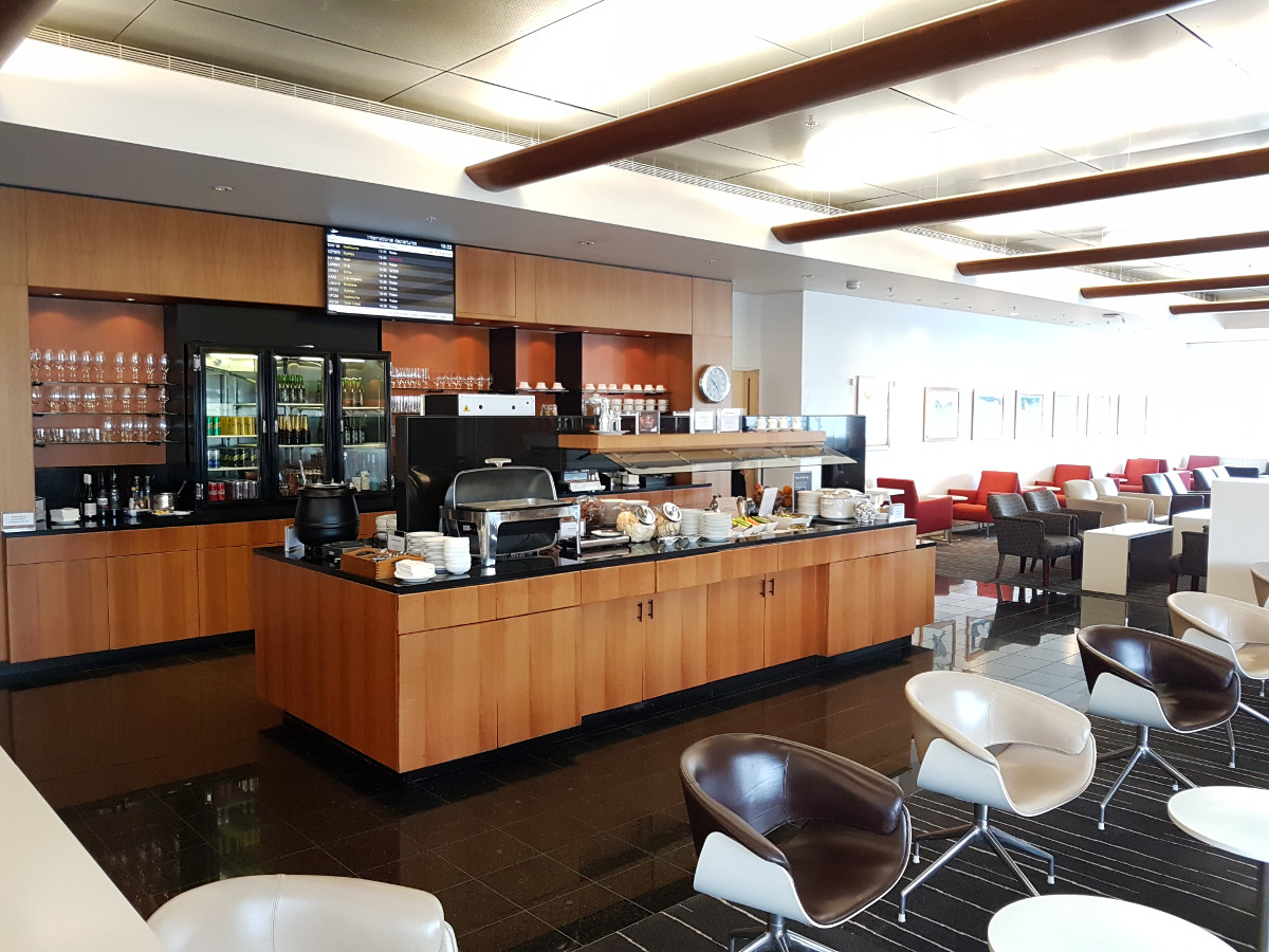 Review: Qantas Club Lounge – Auckland