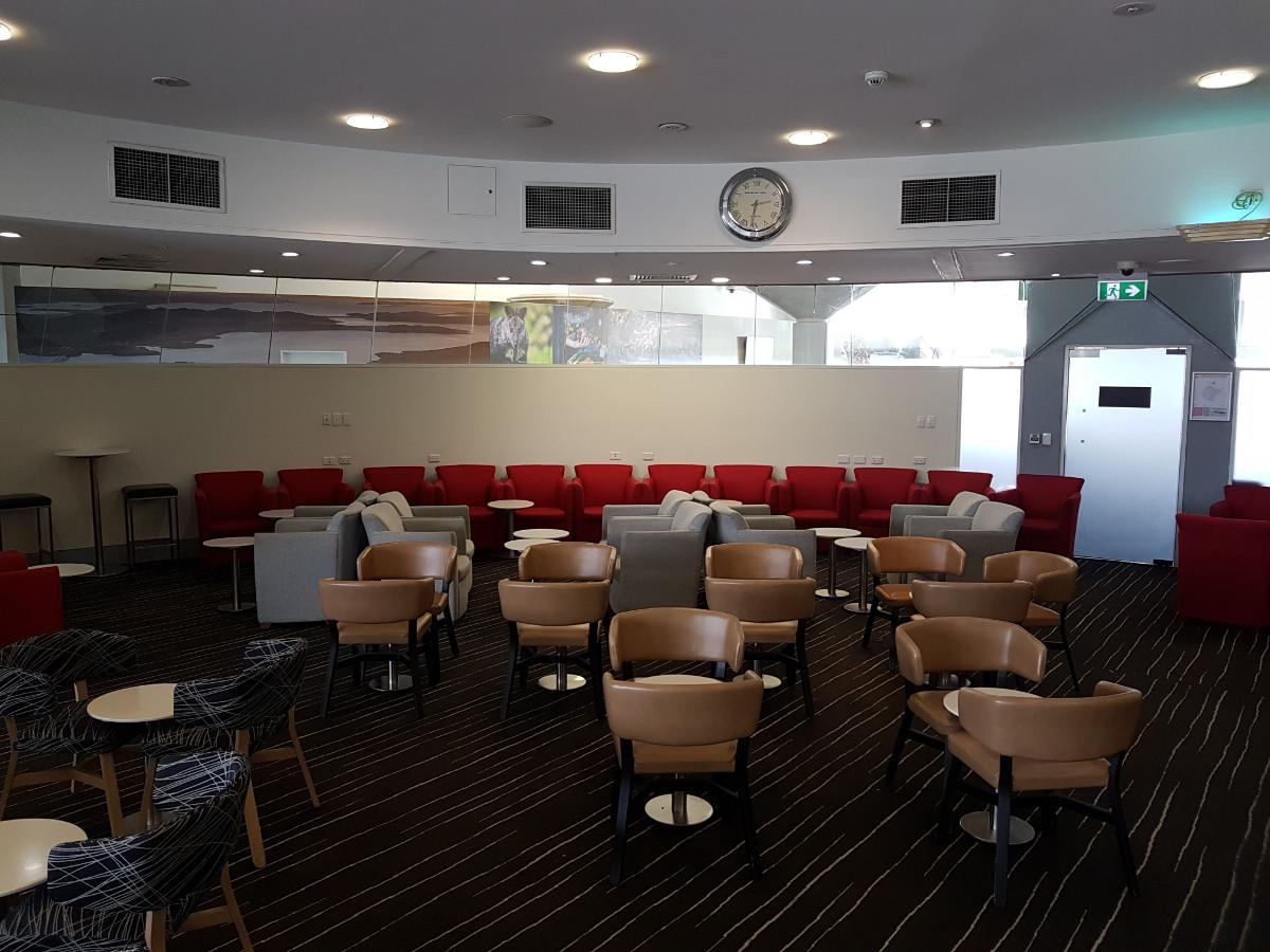 Review: Qantas Club Lounge – Hobart