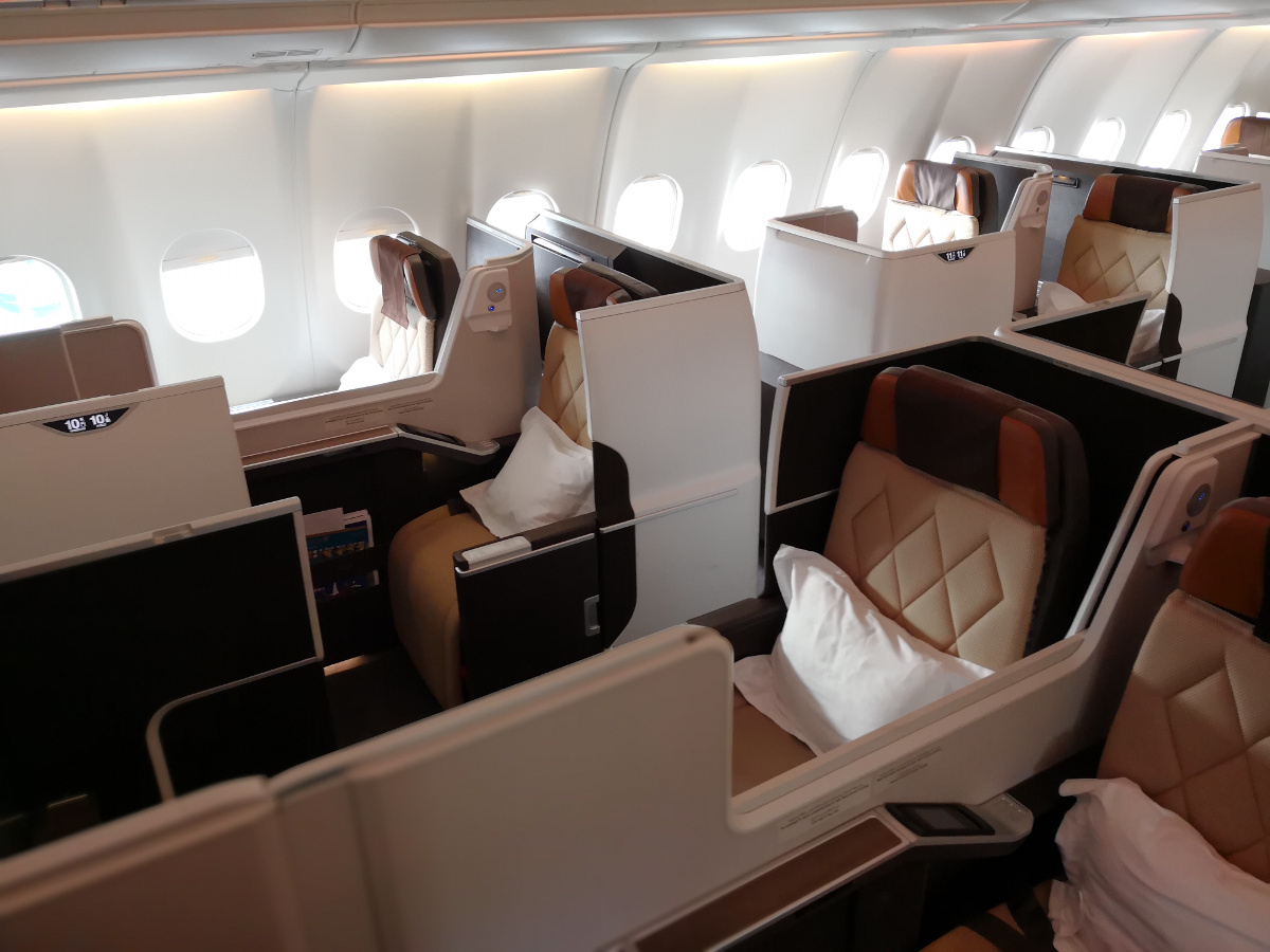 Review: Oman Air – Business Class A330 – Manila nach Maskat
