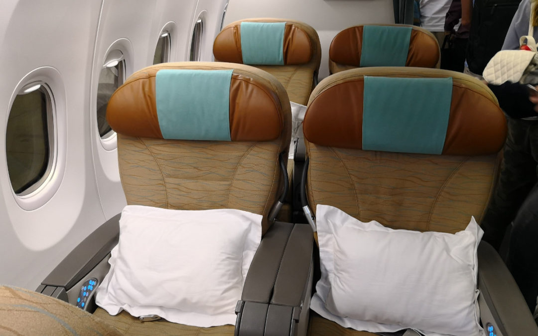 Review: Oman Air – Business Class 737 – Maskat nach Doha