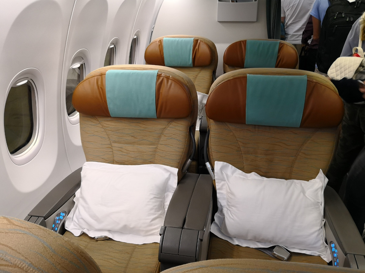 Review: Oman Air – Business Class 737 – Maskat nach Doha