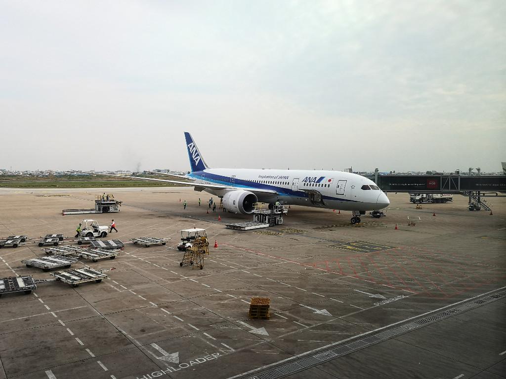 Review: ANA Business Class B787-800 – Tokyo-Narita nach Phnom Peng